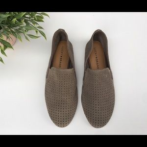 Lucky 🍀 Brand Suede perforate Loafers New
